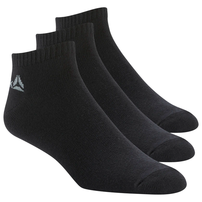 Reebok Active Core No Show Sokken Zwart (3 paar)
