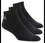 Reebok Active Core No Show Socks Black (3 pairs)