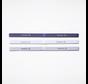 Reebok One Series Schmales Stirnband (3er-Pack) Weiß / Lila