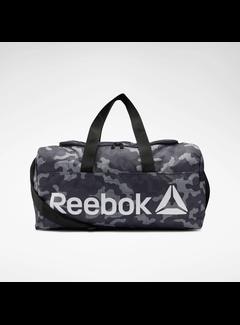 Reebok Reebok Core Graphic Medium Grip Duffel Bag Black