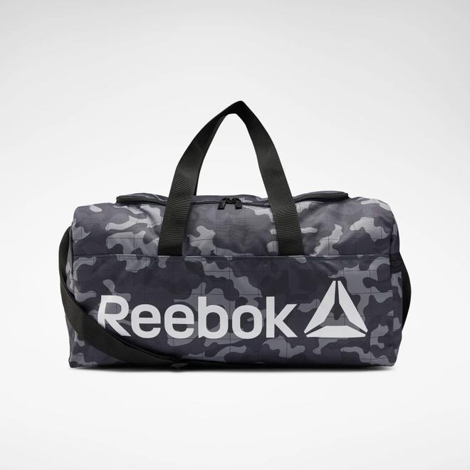Reebok Core Graphic Medium Grip Duffel Bag Black