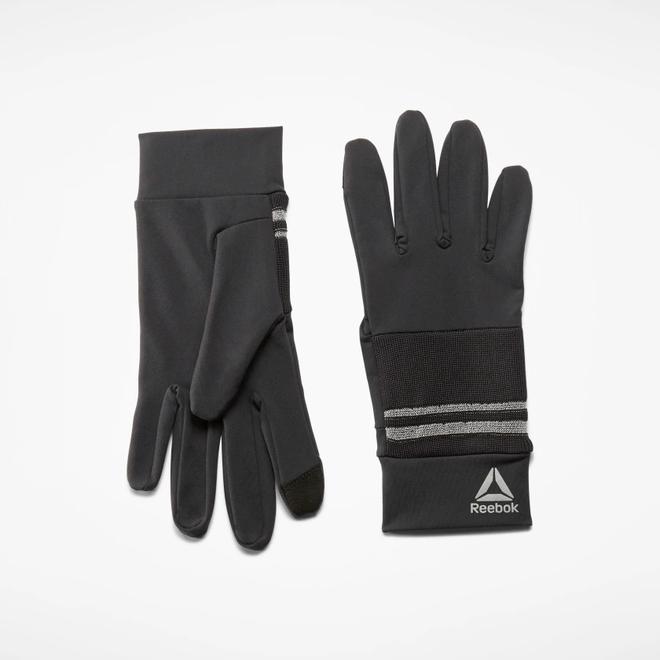 Reebok Running Gloves Schwarz Unisex