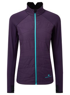 Ron Hill Ron Hill Stride Hybrid Jacket Hardloopjack Dames Paars
