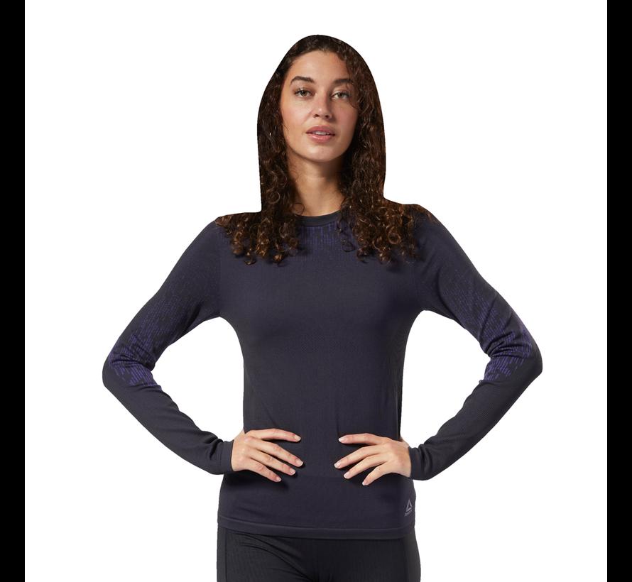 Reebok One Series Thermowarm Baselayer Long Sleeve Ladies Black