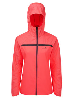 Ron Hill Ron Hill Momentum Afterlight Jacket Dames Roze Hardloopjack