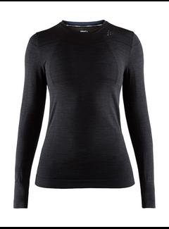 Craft Craft Fuseknit Comfort Longsleeve Ladies Black