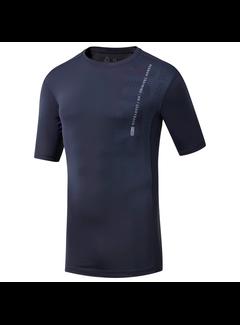 Reebok Reebok One Series Training Compression Shirt Men Navy
