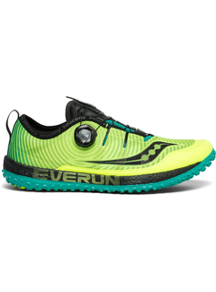 Saucony Saucony Switchback ISO Trail running shoe Men Yellow
