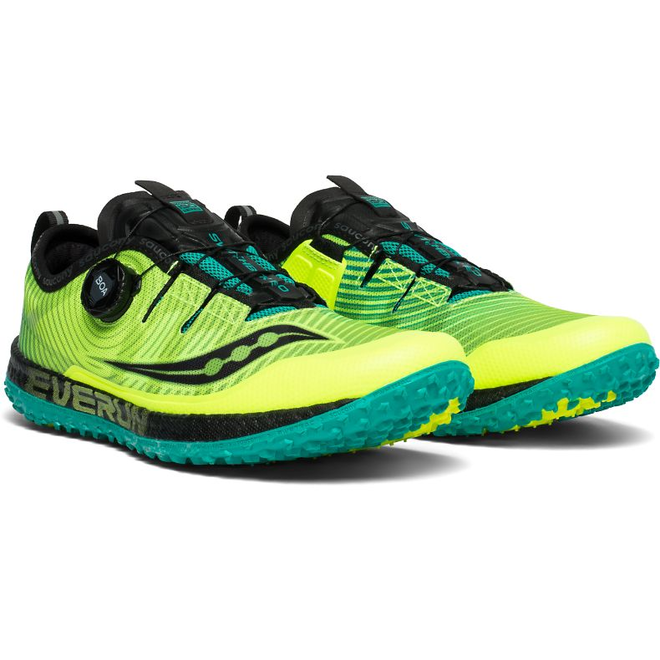 Saucony Switchback ISO Trail running shoe Men Yellow