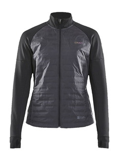 Craft Craft SubZ Jacket Dames Zwart Gevoerde Hardloopjas