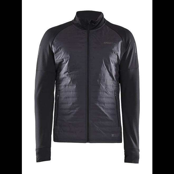 Craft SubZ Jacket Men Black Lined Running Jacket