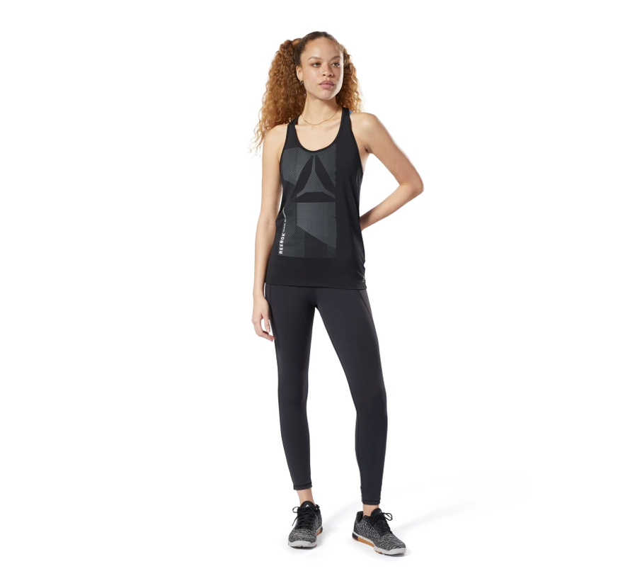 Reebok Activchill Graphic Tanktop Ladies Black