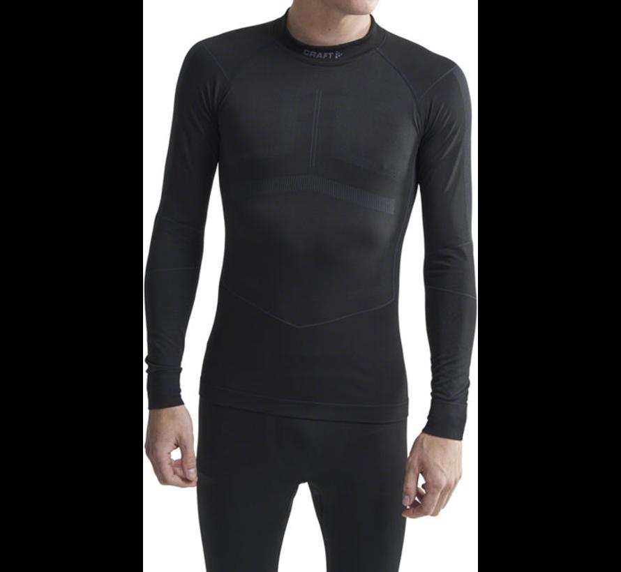 Craft Active Intensity Langarmhemd mit Rundhalsausschnitt Schwarz Herren