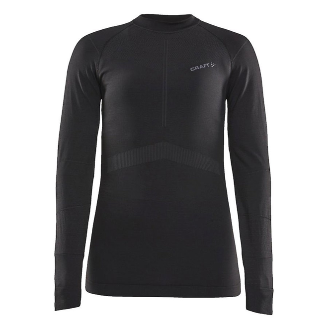 Craft Active Intensity Longsleeve Shirt Crew Neck Zwart Dames