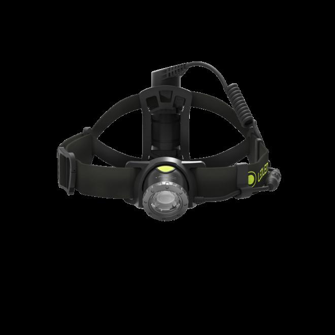 Led Lenser NEO10R Black Head Lampe