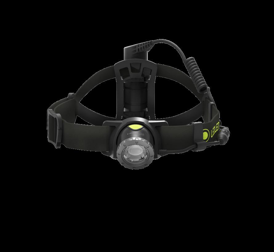 Led Lenser NEO10R Black Head lamp