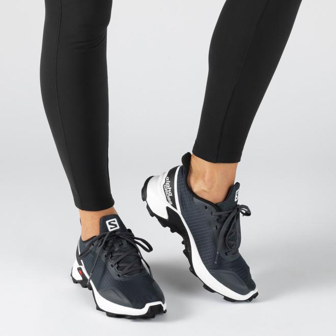 Salomon Alphacross Trail Running Schuh Ladies Grey