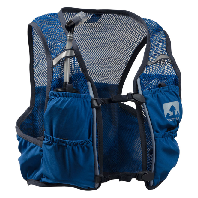 Nathan Vapor Speed 2 Liter Race Vest Blue (including softflasks)