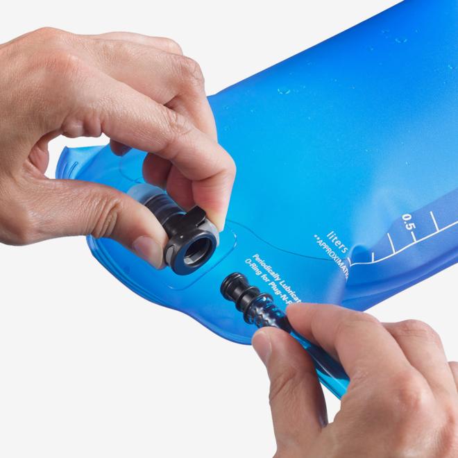 Salomon Soft Reservoir 1,5 Liter Blauer Trinkbeutel