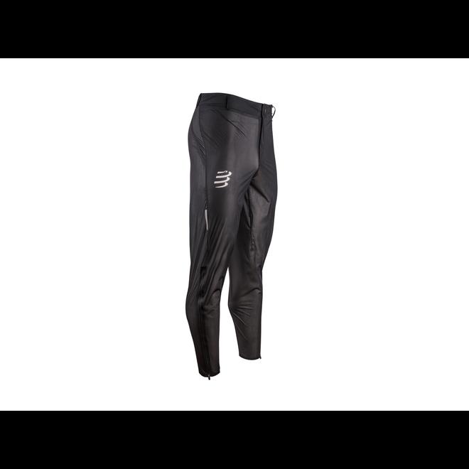 Compressport Hurricane Waterproof 10/10 Pants Unisex Black Waterproof Running pants