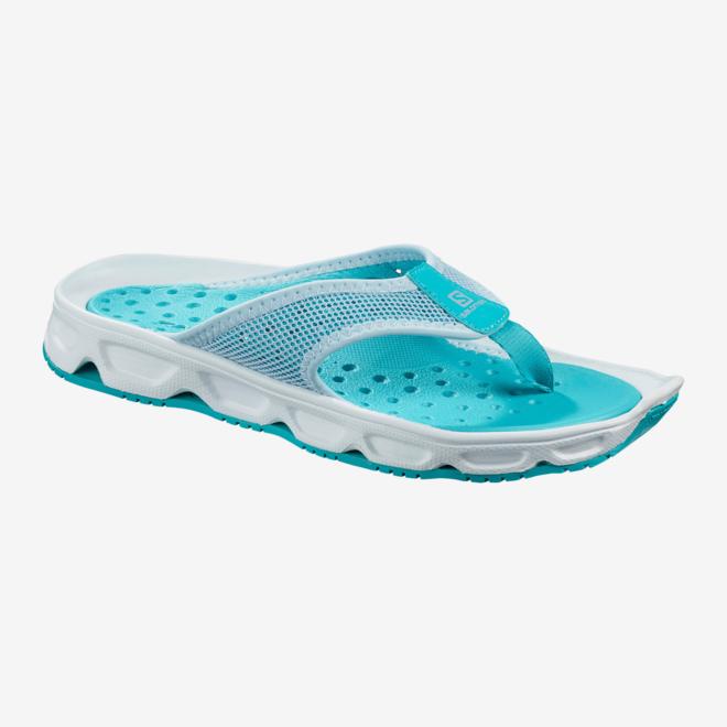 Salomon RX Break 4.0 Flip Flops Ladies Light Blue
