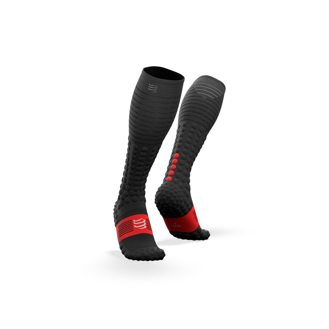 Compressport Full Socks Race & Recovery Black Unisex Compression stockings