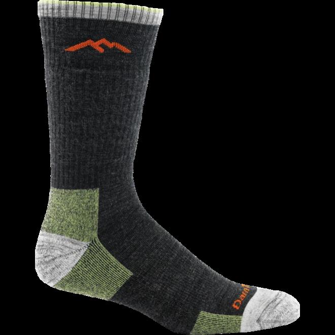 Darn Tough Hiker Book Sock Cushion Walking Socks Lime Unisex