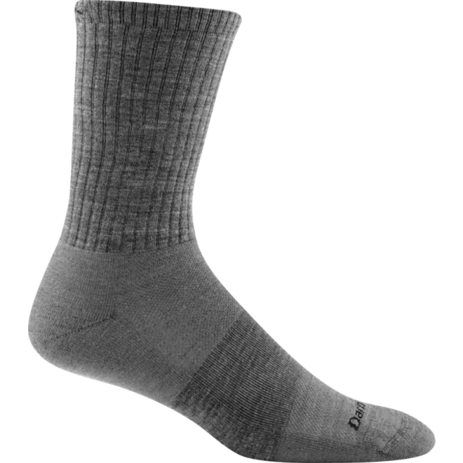 Darn Tough The Standard Crew Light Cushion Sports Sock Gray Unisex Merino