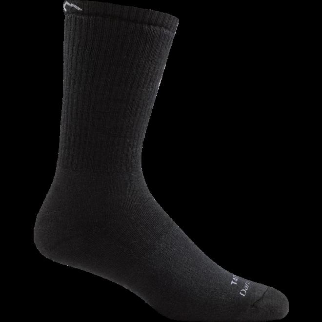 Darn Tough Tactical Boot Extra Cushion Charcoal Merino Sokken Zwart