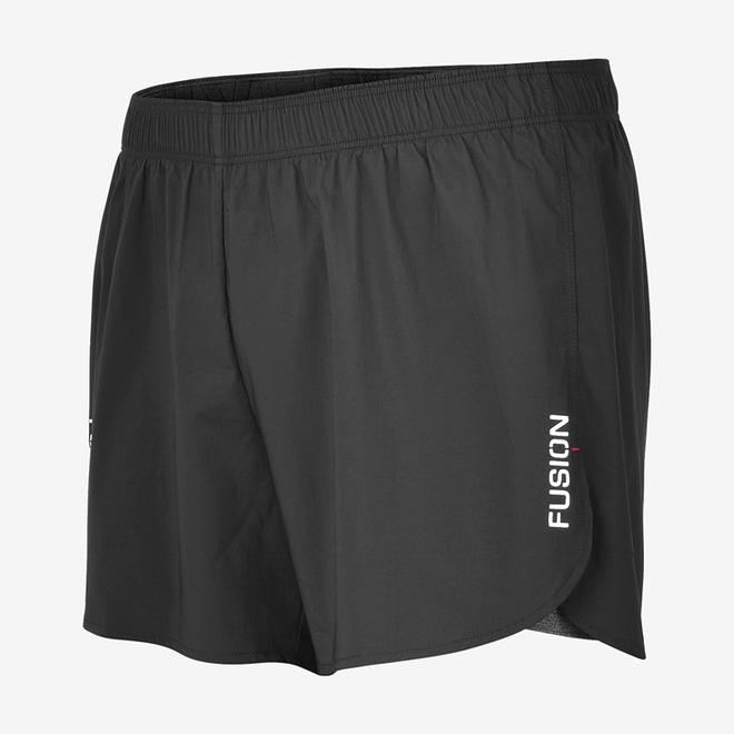Fusion C3+ 2-in-1 Run Shorts Zwart Unisex (zonder zakjes)