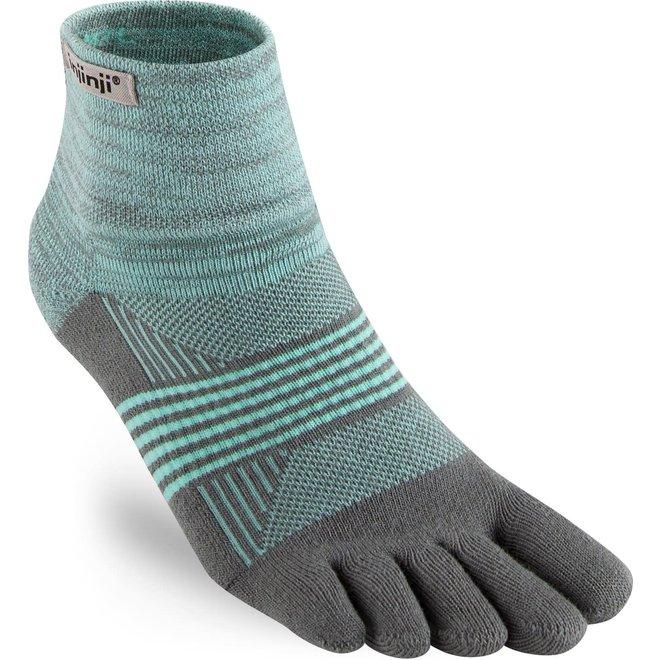 Injinji Trail Midweight Mini Crew Coolmax Toe Socks Mint Ladies