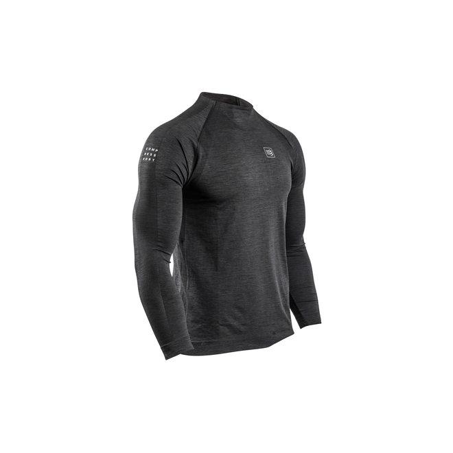 Compressport Winter Shirt Longsleeve Men Black