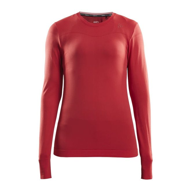Craft Fuseknit Comfort Longsleeve Dames Roze
