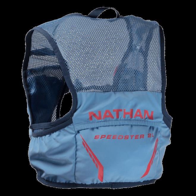 Nathan Vapor Speed 2 Liter Race Vest Blue Ladies (including softflask)