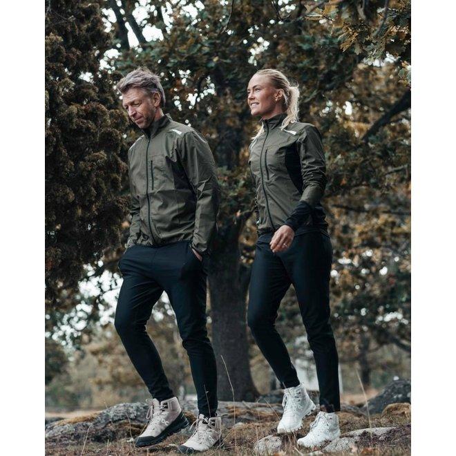 Fusion S1 Run Jacket Ladies Black Running jacket Water repellent