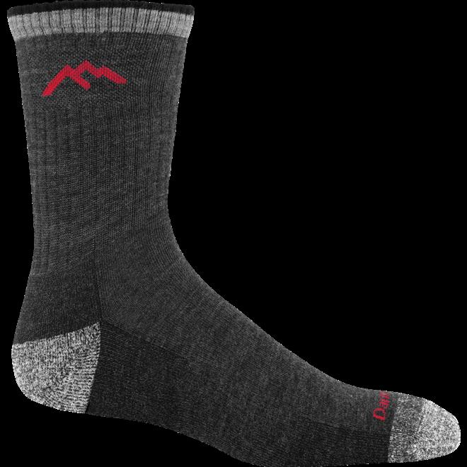 Darn Tough Hiker Micro Crew Cushion Walking Socks Black