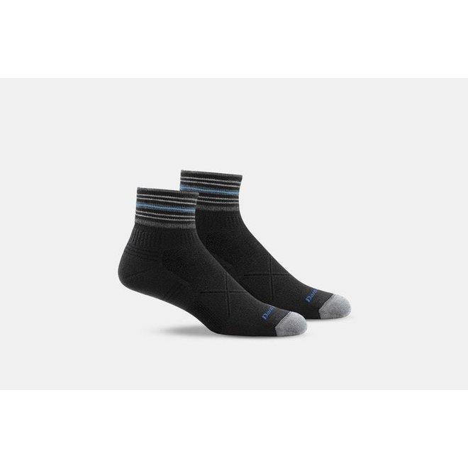 Darn Tough Vertex 1/4 Ultra-Light Black Sport Socks