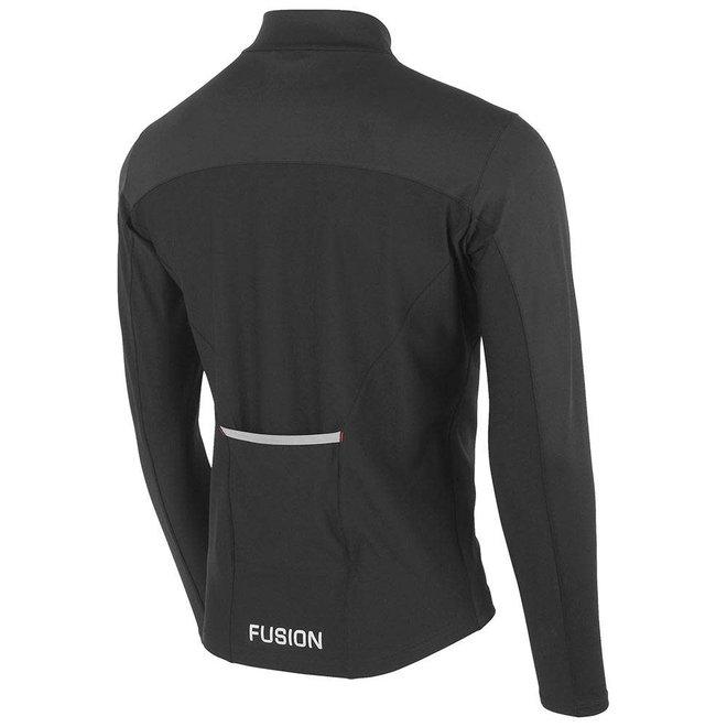 Fusion S2 Run Jacket Men Black Running Jacket Four Seasons