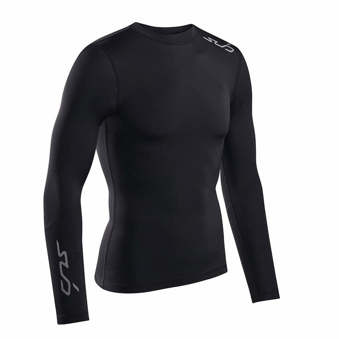 Sub Sports Dual Longsleeve Shirt Heren Zwart Stealth