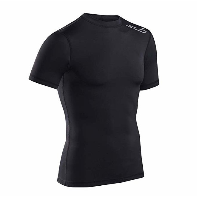 Sub Sports Dual Compressieshirt Heren Zwart Stealth