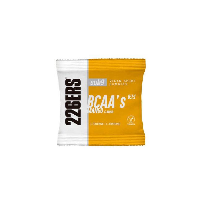 226ERS Vegan Sport Gummies Mango - Sub9 BCAAs (30 grams)