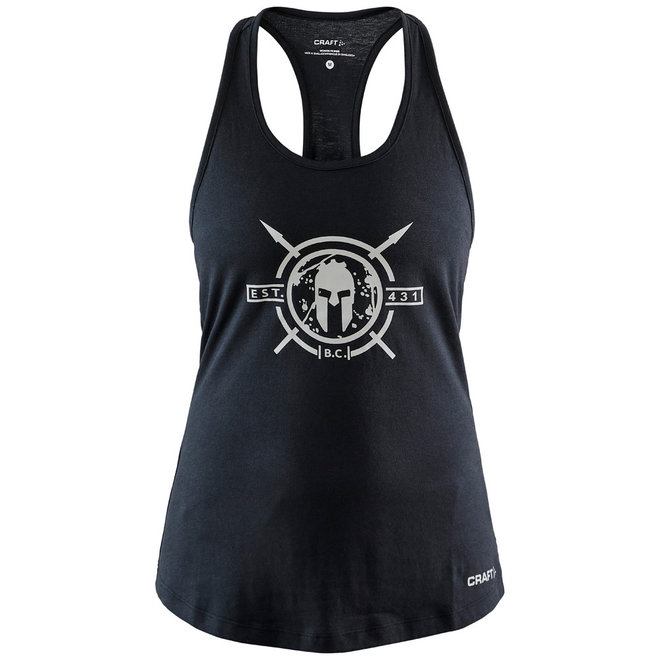 Craft Spartan Tank Top Dames Zwart
