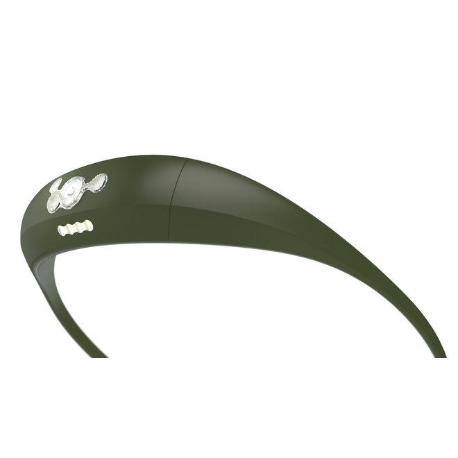 Knog Bandicoot Hoofdlamp Running Khaki (100+ Lumen)