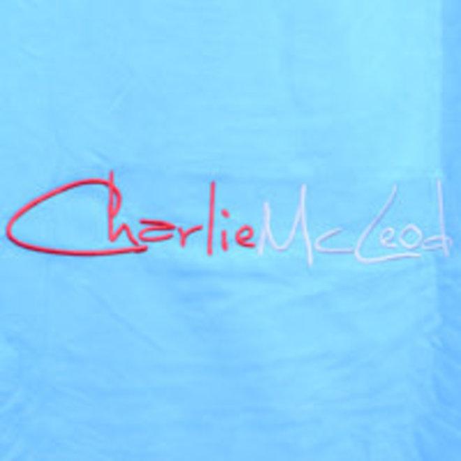 Charlie McLeod Driathlon Navy Omkleedhanddoek Unisex