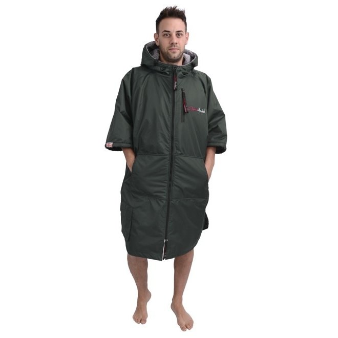Charlie McLeod Military Green Unisex dressing gown