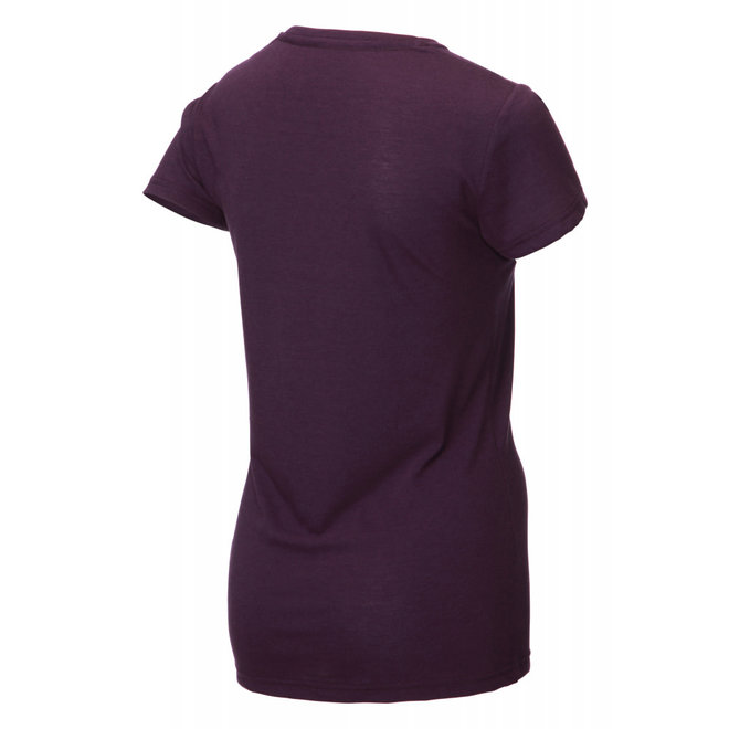 Inov-8 Tri Blend SS Angle Running Shirt Ladies Purple