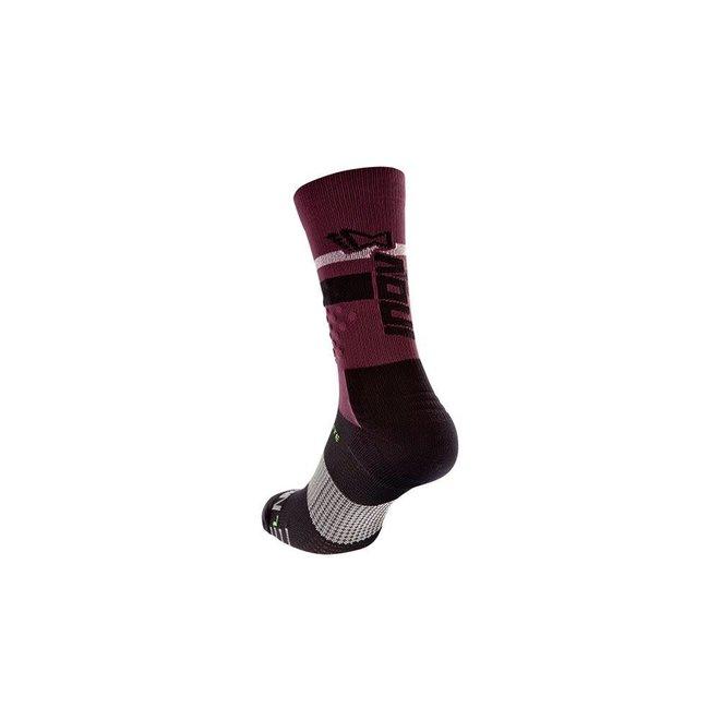 Inov-8 F-Lite Crew Socks Purple / Black