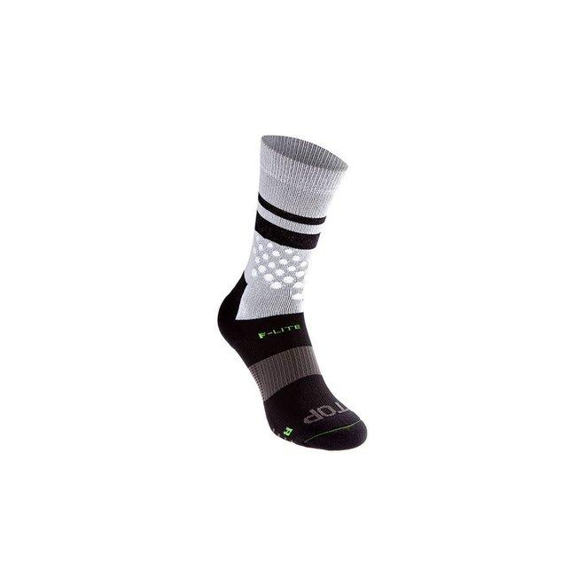 Inov-8 F-Lite Crew Socks White / Black