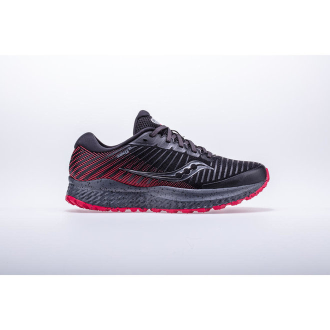 Saucony Guide 13 TR Trail running shoe Ladies Black / Red