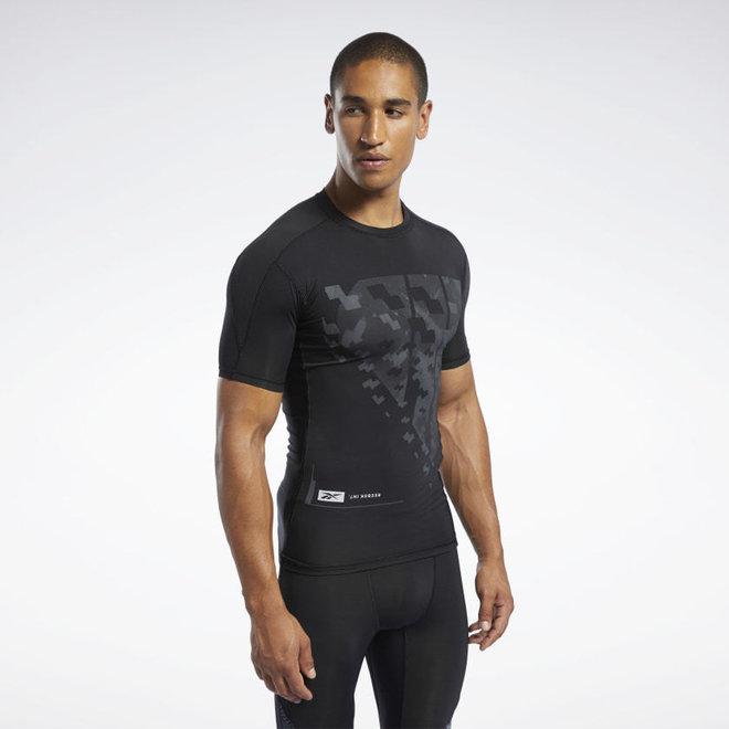 Reebok Compression T-Shirt Men Black